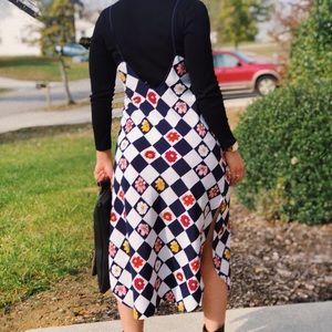Vintage strappy dress